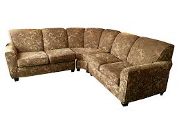 Paisley Sofa pearson 3piece golden paisley sectional chairish 7707 by xevi.us