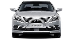 azera highlights sedan hyundai worldwide front view of silver azera