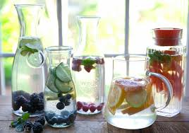 15 flavored water recipes