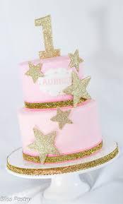 1st Birthday Cake Designs For Baby Girl In India Twinkle Twinkle Little Star First Birthday Cake 1st