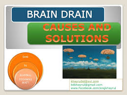 brain drain causes and solutions