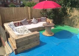 corner seating furniture. garden corner seating with pallets furniture