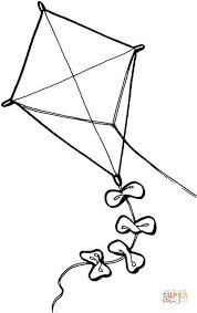 Small Picture Kite coloring page Free Printable Coloring Pages
