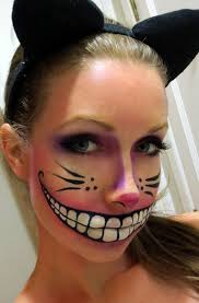 cheshire cat inspired makeup use your artistic skills and draw the charming cheshire smile