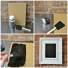 easy diy chalkboard step by step