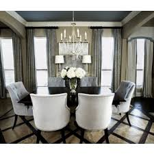 dining rooms Currey and pany crystal chandelier and gla