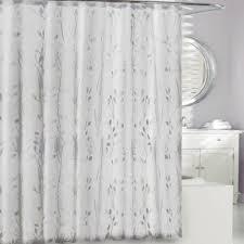 transparent fabric shower curtain. moda at home 3d embossed peva shower curtain in clear transparent fabric p