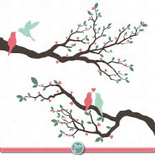 love birds in tree clipart. Beautiful Tree Wedding Clip Art  Throughout Love Birds In Tree Clipart C
