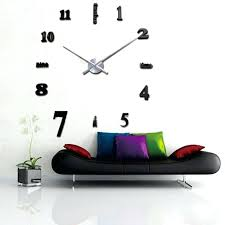 Large office wall clocks Entryway Decorating With Large Wall Clocks New Large Wall Clock Living Room Office Wall Decoration Clock Home Epomi Decorating With Large Wall Clocks Webstechadswebsite