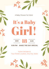 Baby Shower Invitations That Can Be Edited Free Online Baby Shower Invitation Maker Fotojet