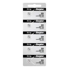 5 321 Energizer Watch Batteries Sr616sw Battery Cell 5 Batteries Per Pack