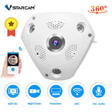 Vstarcam C61S 360 Camera IP 3MP Mắt Cá Toàn Cảnh 1080P Camera Quan Sát 3D  VR Video Cam IP Micro SD thẻ Âm Thanh Từ Xa Nhà Giám Sát|Camera giám sát