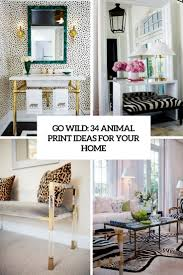 Ideas For Home Decorating go wild 34 animal print ideas for your home digsdigs 3911 by uwakikaiketsu.us