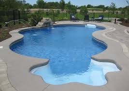 inground pools with waterfalls and slides. Inground Swimming Pool Waterfalls Waterfall Kits Pools With And Slides N