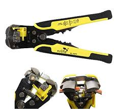 EZ Life Self-Adjusting Automatic <b>Cable Cutter Crimper</b> with 5 in 1 ...