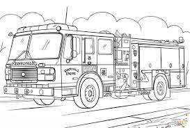 Fire Truck Coloring Pages Wecoloringpage Pinterest For Toddlers