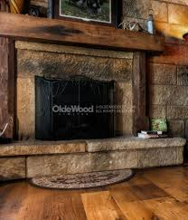 cozy design old wood fireplace mantels 17