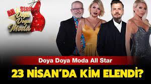 Doya Doya Moda 23 Nisan kim elendi, kim birinci oldu? Doya Doya Moda All  Star 23 Nisan puan durumu açıklandı!