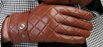Top 14 Best Winter Gloves For Men - Handy Warmth And Style & Borgasets Nappa Leather Quilted Checkered Winter Gloves For Men Adamdwight.com