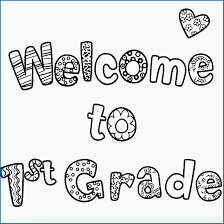 Free Coloring Pages For First Graders Great First Grade Coloring