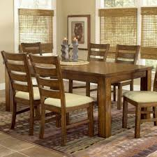 round wooden table and chairs lovely dining room table sets por improbable solid wood set ideas