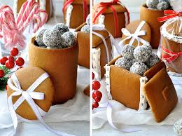 Christmas  Delicious Chocolate Biscuit Cake Home Made Food Gift Baked Christmas Gift Ideas