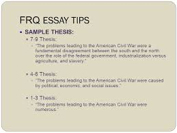 writing the ap us history response question frq ppt 10 frq