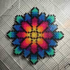 Cool Designs With Perler Beads Daisy Perler Beads By Aeonmetrik Diy Perler Beads