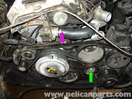 mercedes benz w serpentine belt replacement e large image extra large image
