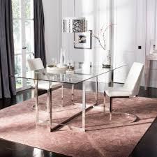 new design living room furniture. Fidel Glass Top Dining Table $878.00 New Design Living Room Furniture