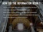 Protestant Reformation Start