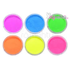Zdobení Na Nehty Glitter Neon