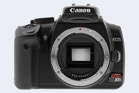 Canon Digital Slr Comparison Chart Canon Xti Comparison Review