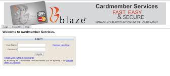 Blaze Credit Card Login Cards Hq