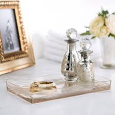 bathroom vanity tray. Mercury Glass Vanity Bathroom Accessory Tray R