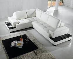 contemporary sectional couch. Delighful Sectional Modern Sectional Couches Sofa In White Bonded Leather  Living Room Mid Century To Contemporary Sectional Couch L