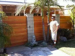 horizontal wood fence gate. Horizontal Wood Fence Gate With Metal Frame Design Ideas Of Privacy .