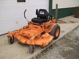 used scag mowers scag turf tiger 61 cut 27 hp liquid cooled kawasaki nice