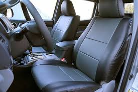 toyota tacoma 2005 2016 iggee s leather custom fit seat cover 13colors available 1 of 11free