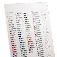 Color Charts Swarovski Crystals