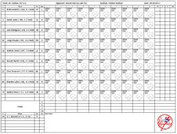 Baseball Game Scorecard Thirdring Net Software Scorecard Create Customized