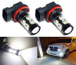 Acura Rsx Fog Light Bulb Size Amazon Com Cllena Extremely Bright 50w 6000k High Power H8