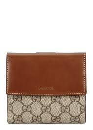 GG Supreme monogrammed wallet