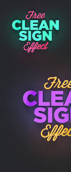 photoshop effects free clean sign photoshop effect brand ideas photoshop