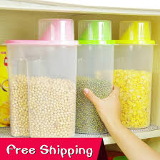 plastic kitchen storage containers best of extra sealed jar food container cereals plastic box storage