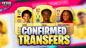 FIFA 20 SUMMER TRANSFERS! CONFIRMED DEALS & RUMOURS! w/ ZAHA, SANE, XAVI  SIMONS & MORE! - YouTube