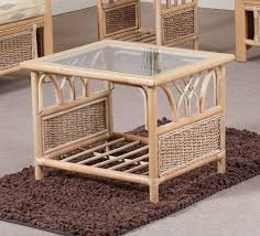 glass and iron rattan glass top coffee table glass and wood rattan glass top coffee table
