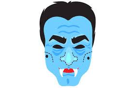 Vampire Face Mask Svg Cut File By Creative Fabrica Crafts Creative Fabrica