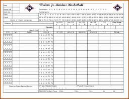Basketball Stats Excel Template Basketball Stat Sheet Excel Asyik