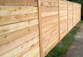 horizontal wood fence.  Fence Horizontal Wood Fences Throughout Fence